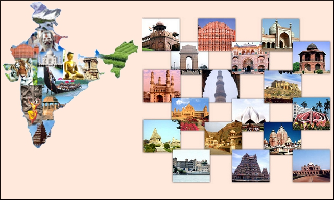 Why To Visit India The Global Tourist Destination – India Tourist Attractions Map